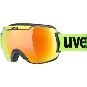 UVEX Downhill 2000 CV Maschera, black mat/colorvision orange fire